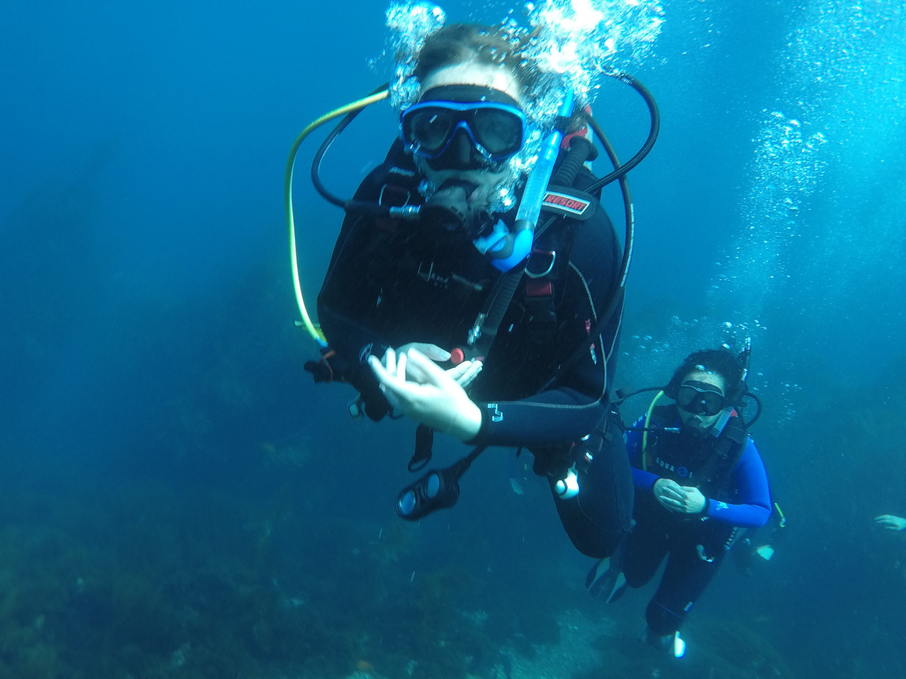 Photo of Scuba Diver Certification diving course.