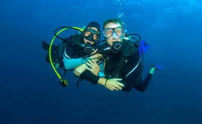Photo of Rescue Diver diving course.