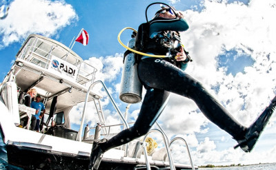 Photo of Boat Diver diving course.